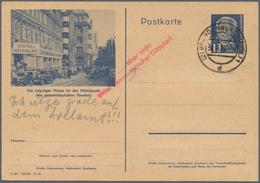 Thematik: Leipziger Messe / Leipzig Fair: 1932/1982, Leipziger Messe, Sammlung Mit Hunderten Belegen - Briefmarken