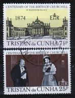 Tristan Da Cunha 1974 Complete Set Of Stamps Commemorating Birth Centenary Of Winston Churchill. - Tristan Da Cunha