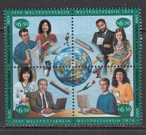 United Nation Vienna MNH Michel Nr 294/97 From 1999 Catw 5.00 EUR - Wenen - Kantoor Van De Verenigde Naties