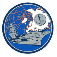 245 - MARINE NATIONALE - AUTOCOLLANT  - P.A. CHARLES DE GAULLE - Stickers