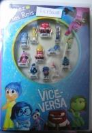 Coffret Collector Introuvable Série Complète De 10 Feves DISNEY + 2 Hors Séries VICE VERSA 2016 ( Feve ) RARE - Disney