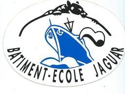 248 - MARINE NATIONALE - AUTOCOLLANT  - BATIMENT ECOLE JAGUAR - Stickers