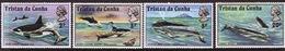 Tristan Da Cunha 1975 Complete Set Of Stamps Commemorating Whales. - Tristan Da Cunha