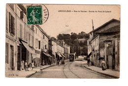 CPA 16 - Angoulême - Entrée Du Pont St Cybard - Angouleme