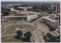 CPM - ABIDJAN - VUE AERIENNE PLACE De L'INDEPENDANCE - Photo Hoa-Qui - Côte-d'Ivoire
