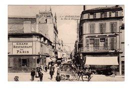 CPA 16 - Angoulême - La Rue De Perigueux , Belle Animation , Grand Restaurant De Paris - Angouleme