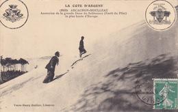 Arcachon Moulleau Ascension De La Grande Dune Du Sablouney (forêt Du Pilat) - Arcachon