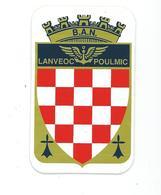 252 - AERONAUTIQUE NAVALE - BASE LANVEOC POULMIC - Stickers