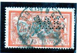 "B - 1920 Francia - Tipo ""Merson"" - Perfin - Francia"