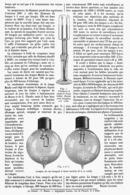 """LA LAMPE à INCANDESCENCE """"DEMI-WATT """" """" MAZDA """" 1915 - Technical"""