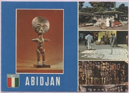 CPM - ABIDJAN - ARTISANAT SUR LE PLATEAU - Edition Agence Hachette - Côte-d'Ivoire
