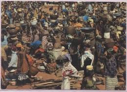 CPM - ABIDJAN - SCENE De MARCHE - Photo J.C.Nourault - Côte-d'Ivoire