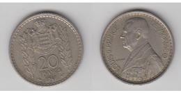 MONACO - 20 FRS 1947 - 1922-1949 Louis II