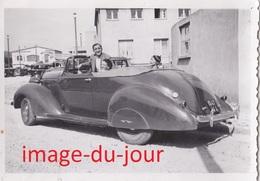 Photo Voiture Ancienne De Luxe Berline Décapotable A Identifier - Automobili