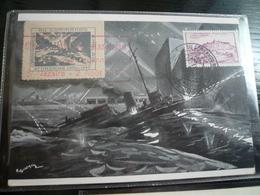 St.Nazaire 1947 Commemorazione Attacco Britannico Del 1942 - Seconda Guerra Mondiale