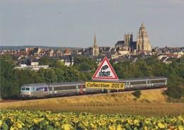 BB 67610 Et Train Tours-Caen à Argentan (61) - - Argentan