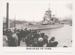 AK08  Shipping/military - HMS Duke Of York - Warships