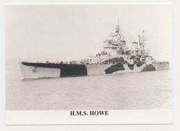 AK08  Shipping/military - HMS Howe - Warships