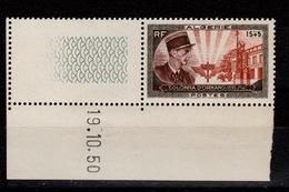 Algerie - YV 286 N** Petit Coin Daté Colonna D'Ornano - Algérie (1924-1962)