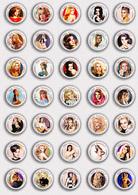 35 X Ann Margret Film Fan ART BADGE BUTTON PIN SET 2 (1inch/25mm Diameter) - Films