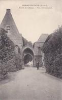 Chamtoceaux  ( 49 Maine Et Loire )  Entree Du Chateau - Champtoceaux