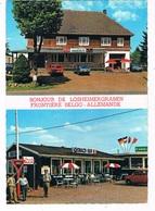 B-7021   LOSHEIMERGRABEN / MANDERFELD : Frontiere Belgo- Allemande ( Border, Grens,Snack-bar, Daf ) - Bullange - Buellingen