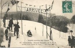 88 - Gérardmer - Grande Semaine Du T.C.F. - Arrivée D'une Course De Luges - Gerardmer