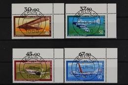 Berlin, MiNr. 592-595, Ecke Re. Oben, Gestempelt - [5] Berlin