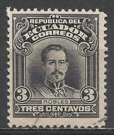 Ecuador 1915. Scott #205 (U) President, Francisco Robles * - Equateur