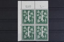 Deutschland (BRD), MiNr. 220, 4er Block, Ecke Li. Oben, Postfrisch / MNH - [7] République Fédérale