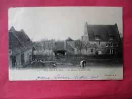 Cpa Precurseur VILLERS Sur MER - Le Manoir D' Auberville  - Cour De Ferme - Dos Non Séparé Voyagé En 1903 - Villers Sur Mer