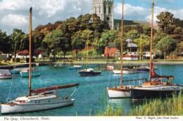 AQ10 The Quay, Christchurch - John Hinde Postcard - Autres
