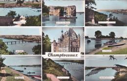 Champtoceaux  ( 49 Maine Et Loire ) Carte Multi Vues - Champtoceaux