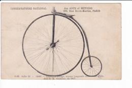 CONSERVATOIR NATIONAL DES ARTS ET MÉTIERS - PARIS - O-86 Salle 10 - 140066 - Bicyclette Rudge.... - Cartoline