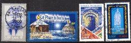 Lot TP N° 3293-94 3299-3300 - OB - Conseil D'état - Le Phare Du Bout Du Monde - Banque De France - Corps Préfectoral - France