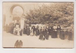 26778 Carte Photo France Viaduc Pont -procession Catholique Femme -Lourdes Catholique - Lourdes