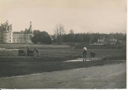 CHAMBORD - Photographie Ancienne  12 X 17 Cm - Travaux Dans Le Parc - Lieux