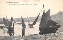 ¤¤   -   AUDIERNE Pittoresque   -  La Port à Marée Basse  -  Effet De Contre-jour Le Matin   -   ¤¤ - Audierne