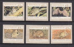 Australia MNH Michel Nr 1279/84 From 1992 / Catw 8.00 EUR - Ongebruikt
