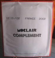 MOC - JEU FRANCE MOCLAIR 2002 (Avec Pochettes) - Pré-Imprimés