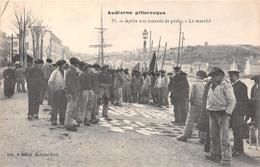 ¤¤   -   AUDIERNE Pittoresque   -  Après Une Journée De Pêche   -  Le Marché  -   ¤¤ - Audierne