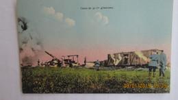 CPA  CANON De 32 C/M  Glissement - Ausrüstung