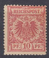 GERMANIA - ALLEMAGNE - 1889 - Yvert 47 Nuovo MH - Gebraucht