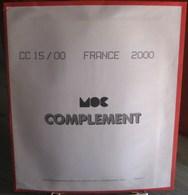 MOC - JEU FRANCE MOCLAIR 2000 (Avec Pochettes) - Pré-Imprimés