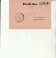 L 3 - Enveloppe Gendarmerie  Des F.F.A. à TUBINGEN  -Poste Aux Armées - Cachets Militaires A Partir De 1900 (hors Guerres)