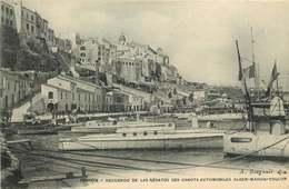 ESPAGNE  MAHON   Recuerdo De Las Regatos Canots Automobiles ALGER - MAHON - TOULON - Espagne