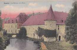 Spontin - Le Château Et Le Bocq - Circulé En 1934 - TBE - Yvoir - Yvoir