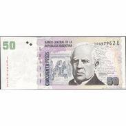 TWN - ARGENTINA 356e - 50 Pesos 2003 Serie E - Signatures: Del Pont & Fellner UNC - Argentina