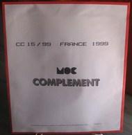 MOC - JEU FRANCE MOCLAIR 1999 (Avec Pochettes) - Pré-Imprimés