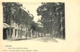 ESPAGNE  MAHON  Calle Del Doctor Orfila - Espagne